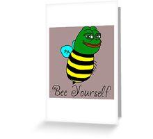 Bee Yourself Greeting Card