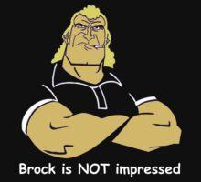 Brock is NOT impressed by Zachariah Glubka