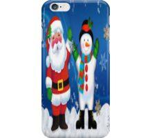 Frosty & Santa iPhone Case/Skin