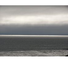 Silver Lining Ocean Cloudscape Photographic Print