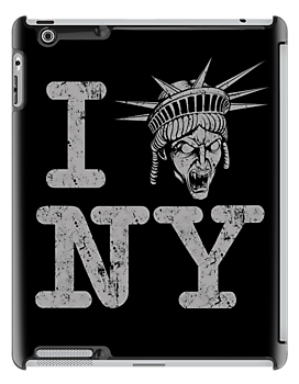 Angels love NY - Ipad Case by TrulyEpic