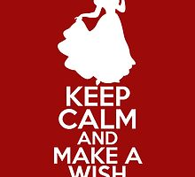 Keep Calm and Make a Wish (Snow White, Snow White and the Seven Dwarfs) by graceonastring