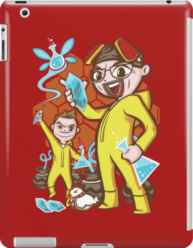 The Legend of Heisenberg - Ipad Case by TrulyEpic