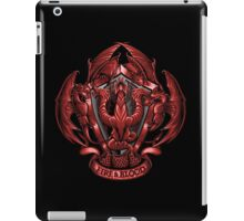 Fire and Blood - Ipad Case iPad Case/Skin