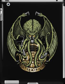 Cthulhu Exterminates - Ipad Case by TrulyEpic