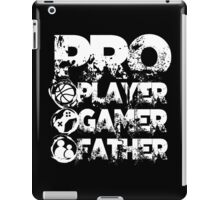 Pro player gamer father iPad Case/Skin