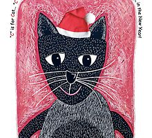 Christmas Cat by Margaret Krajnc