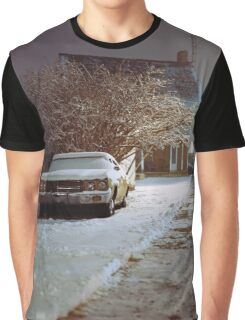 Snowy Evening Graphic T-Shirt