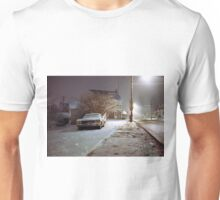 Snowy Evening Unisex T-Shirt