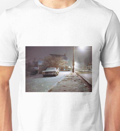 Snowy Evening Unisex T-Shirt