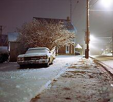 Snowy Evening by Daniel Regner