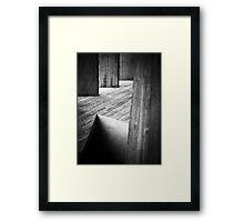 Pitfall Framed Print