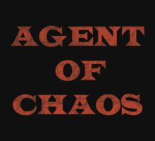 I'm Just An Agent Of Chaos Kids Tee