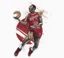 Michael Jordan Vector T-Shirt