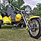 Yellow Volkswagen Trike by Ferenghi