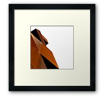 Oxidised Abstract Framed Print