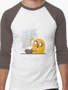 Bacon pancake Men's Baseball ¾ T-Shirt