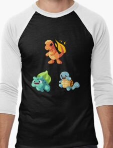 Kanto Starters - New (No Outline) T-Shirt