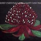WARATAH CHRISTMAS by jansimpressions