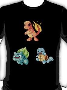 Kanto Starters - New T-Shirt