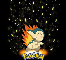 "Start With Cyndaquil ""IPHONEs, S4 & S3 only"" by Winick-lim"