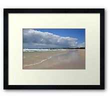 Morning clouds on Dreamtime .. Framed Print
