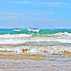 Turquoise Waves  by Susan Wellington