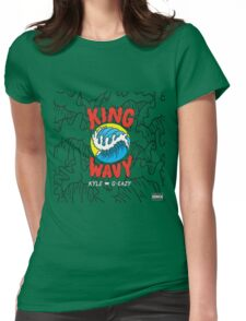 King Wavy  Womens Fitted T-Shirt
