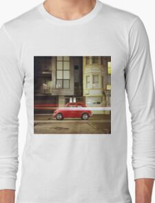 Little Red Car Long Sleeve T-Shirt