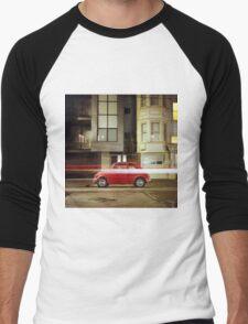 Little Red Car Men's Baseball ¾ T-Shirt