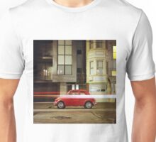 Little Red Car Unisex T-Shirt
