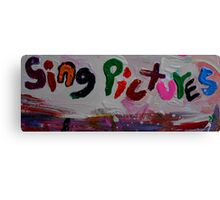 sing pictures Canvas Print