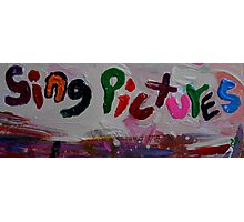 sing pictures Photographic Print