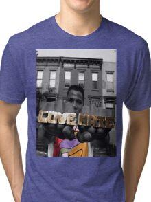 Radio Raheem - Love & Hate  Tri-blend T-Shirt