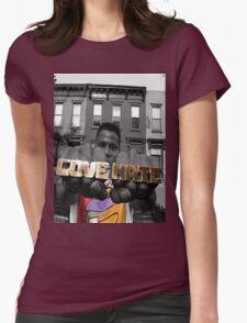 Radio Raheem - Love & Hate  Womens Fitted T-Shirt