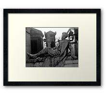 To Sleep, Perchance to Dream Framed Print
