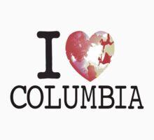 I Love Columbia One Piece - Short Sleeve