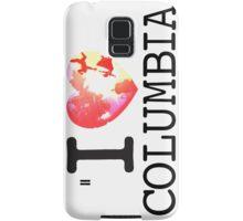 I Love Columbia Samsung Galaxy Case/Skin