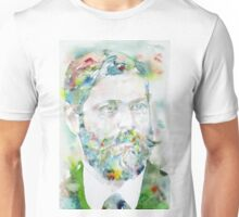 SIGMUND FREUD - watercolor portrait.8 Unisex T-Shirt