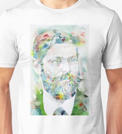 SIGMUND FREUD - watercolor portrait.8 Unisex T-Shirt