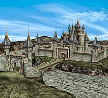 Fairy Tale Castle by Vac1