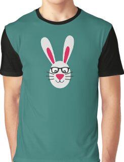 Nerd Rabbit Graphic T-Shirt