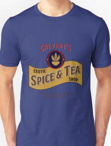 Calvert's Exotic Spice and Tea Shop Unisex T-Shirt