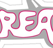 Grease Logo Grey Sticker