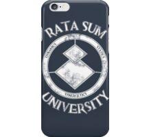 Rata Sum University iPhone Case/Skin