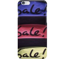 SALES iPhone Case/Skin