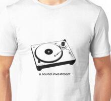 A sound investment Unisex T-Shirt