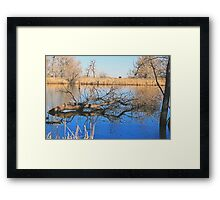 Reflections of My Love Framed Print