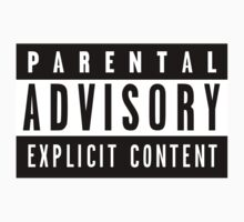 Parental Advisory Logo Shirt by Adolescent96