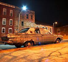 Rusty Car by Daniel Regner